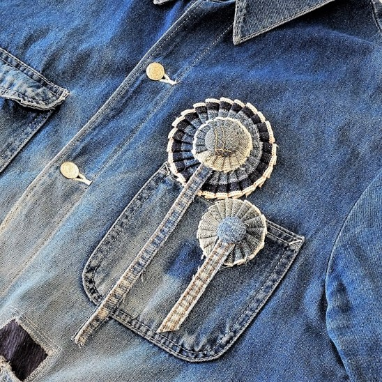 Denim Rosette (Take Product × PARKS)